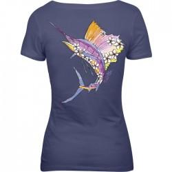 Salt Life damas camisetas tacticas mangas cortas